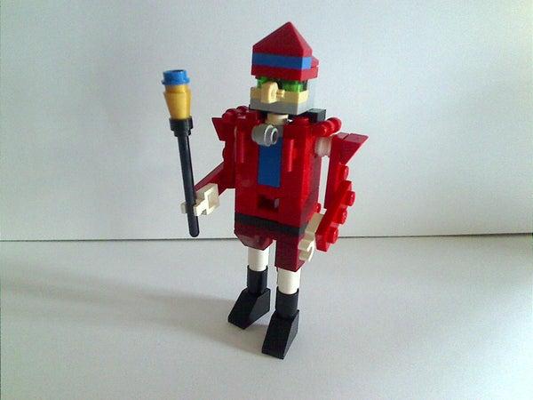 Mini Lego Nutcracker