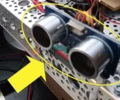 Wallace Autonomous Robot - Add Obstacle Avoidance Sensors