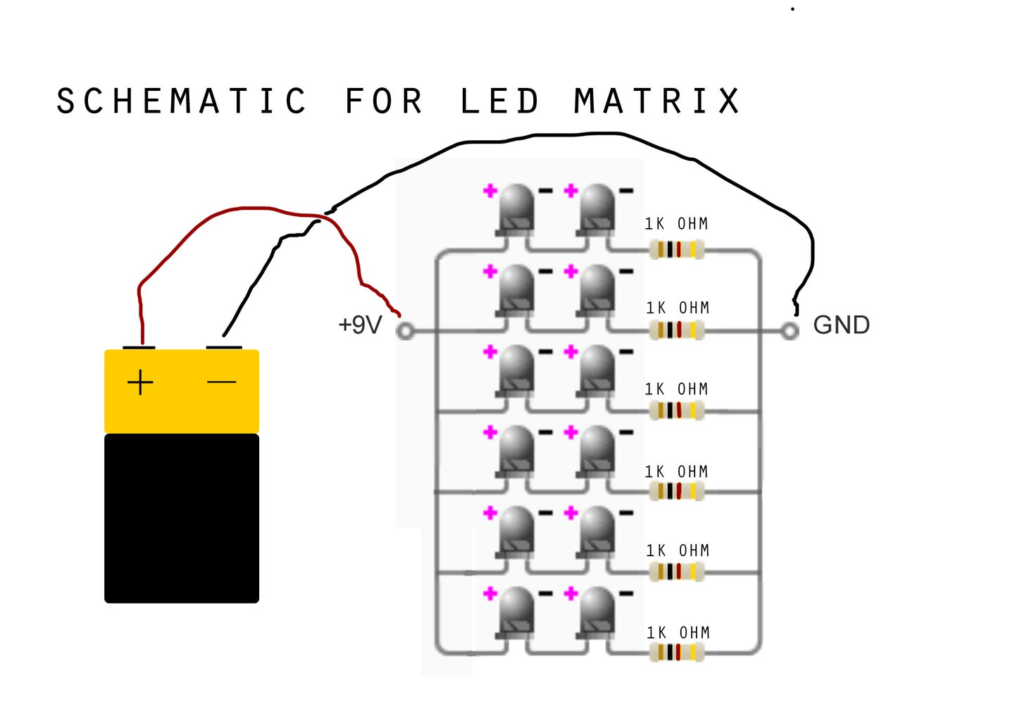 Make an LED Grid!