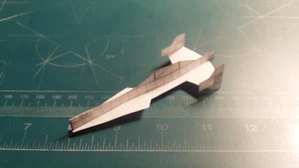 How to Make the Justice League Javelin-7 Paper Airplane