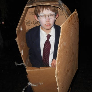 Coffin Costume - the Easy Way