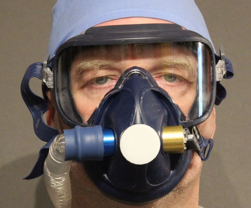 Respirator: RubenValve Paint Sprayer Mask