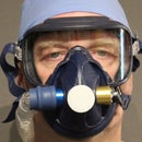 PPE Respirator: RubenValve Paint Sprayer Mask