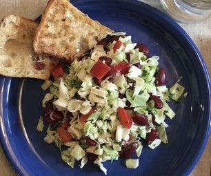 红豆沙拉用羊毛脂和胡椒