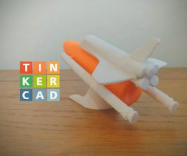 Tinkercad航天飞机