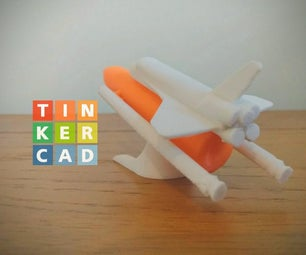 Tinkercad Space Shuttle