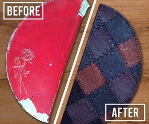 DIY  - 为带皮革的产品提供新的生命
