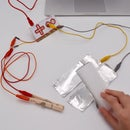 Makey Makey Output on Rube Goldberg Chain Reactions