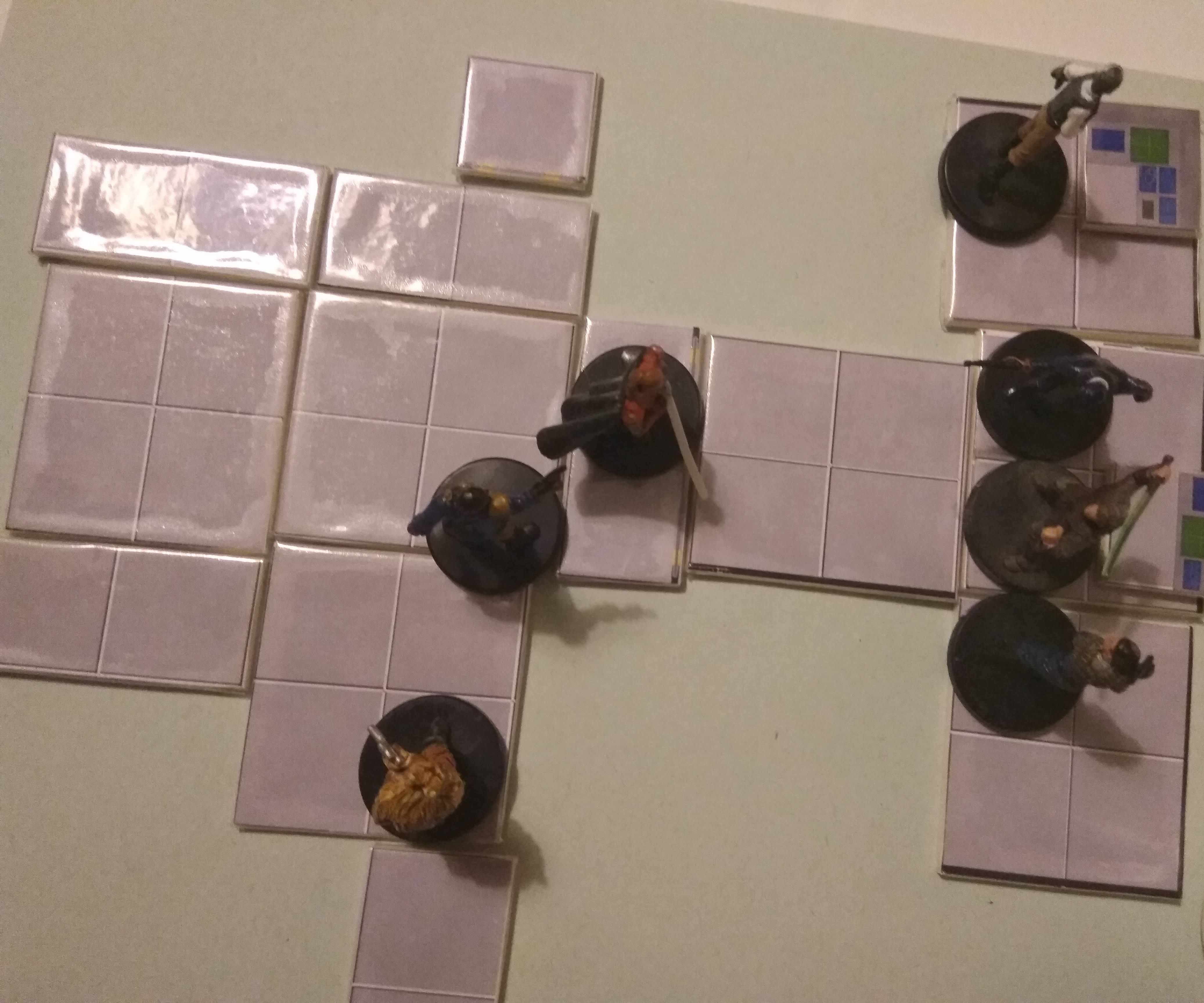 Quick and Easy Custom Game Board/tiles for RPGs and Boardgames