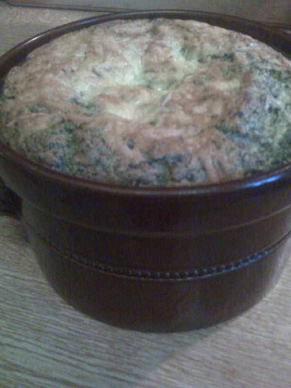 How to Make Spinach Souffle