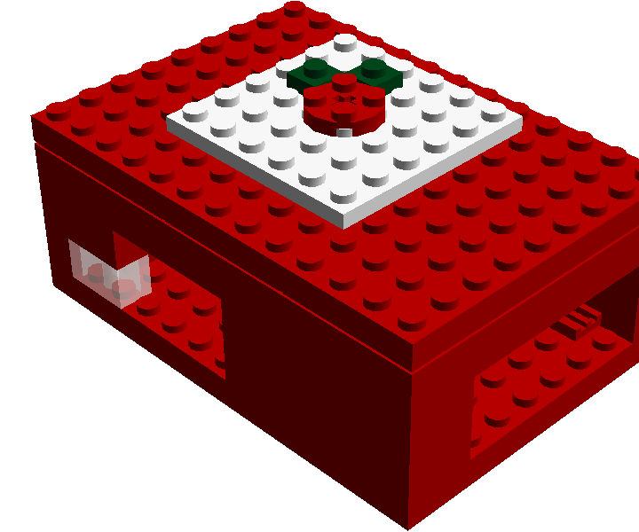 Raspberry Carcasa Lego