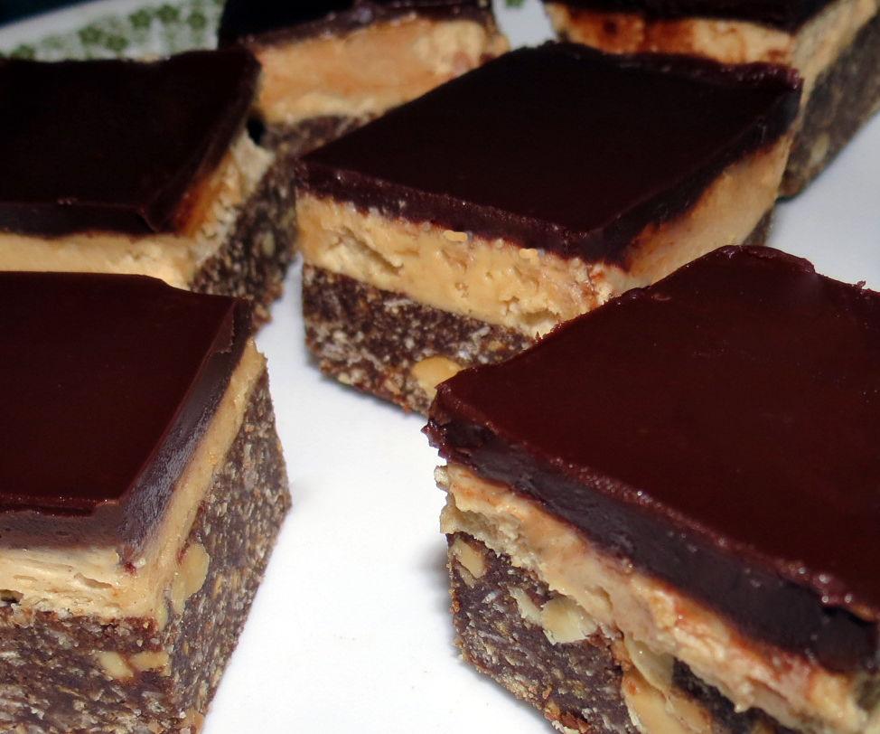 Peanut Butter Nanaimo Bars - PB2