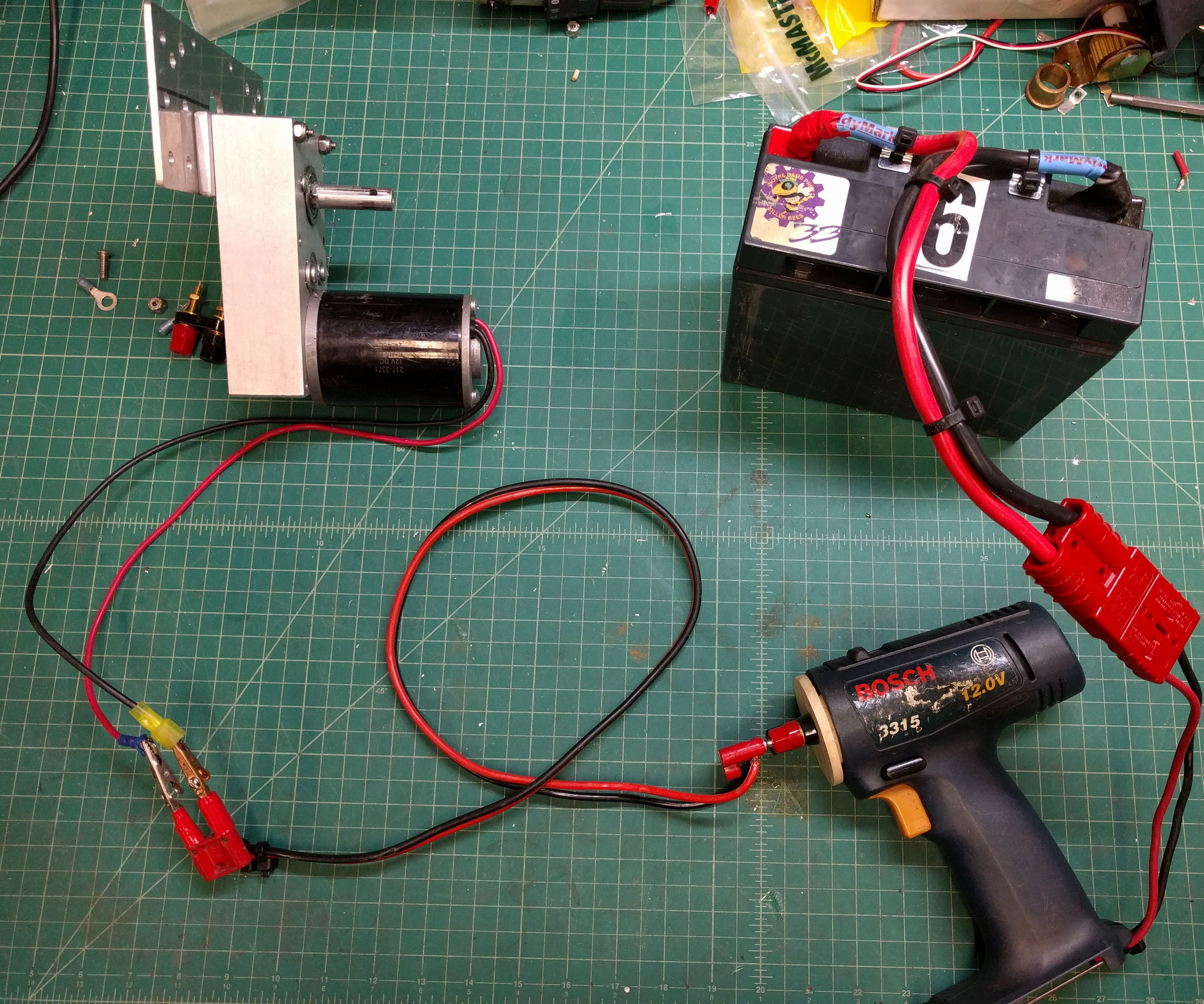 Handheld Motor Tester for FIRST Robotics