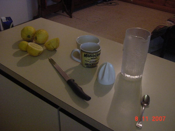 Yummy, Easy Lemonade!