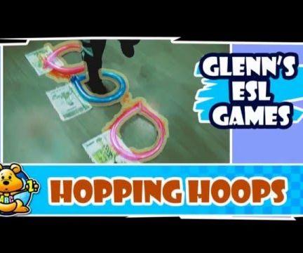 ESL Class Game: Hopping Hoops