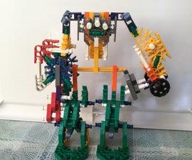 Knex Mini Devastater (not Exact Transformers)