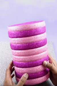 Let's Cover the Craft Using Glitter Sheet!