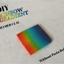Polymer Clay Rainbow Gradient!