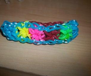 Rainbow Loom Starburst Bracelt