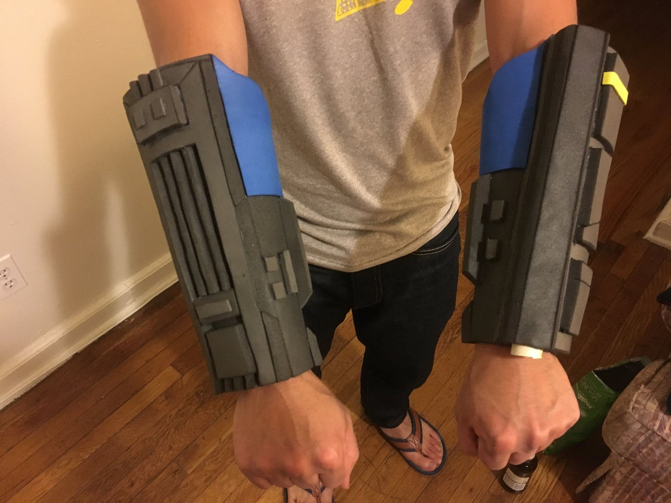 Forearms and Hand Guards