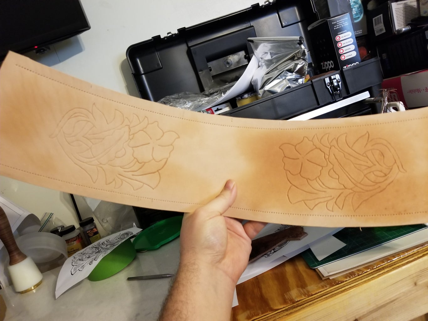 Transfering Your Template and Cutting in the Design