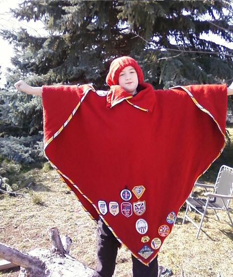 Sew a Scout Patch Pancho