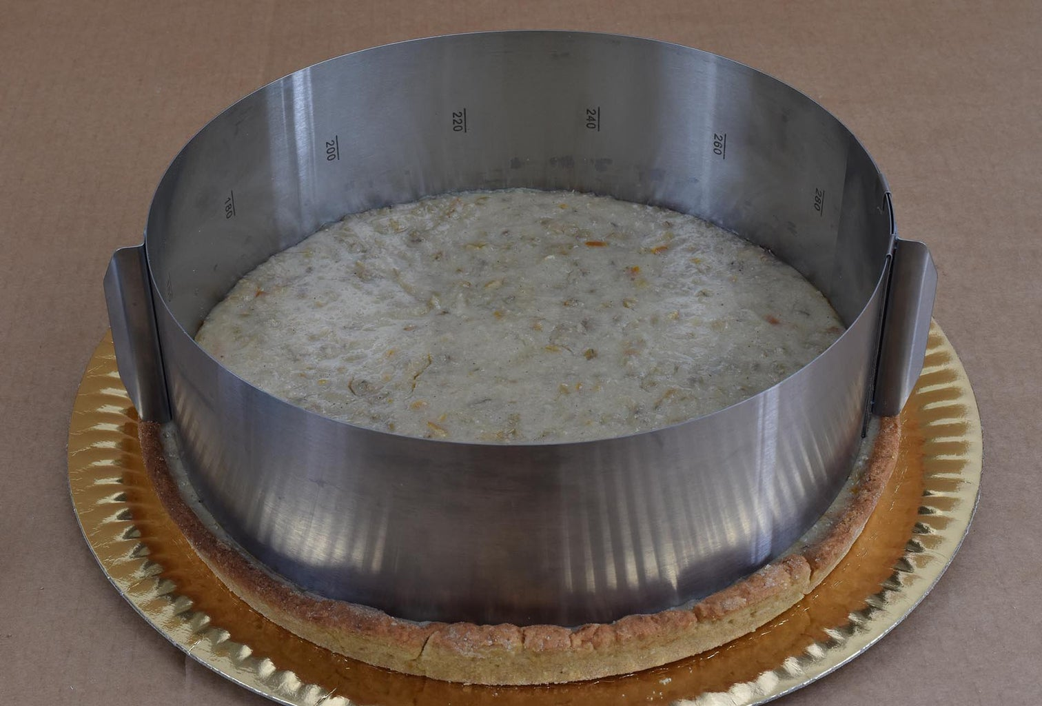 Pastiera Pie - Assembly