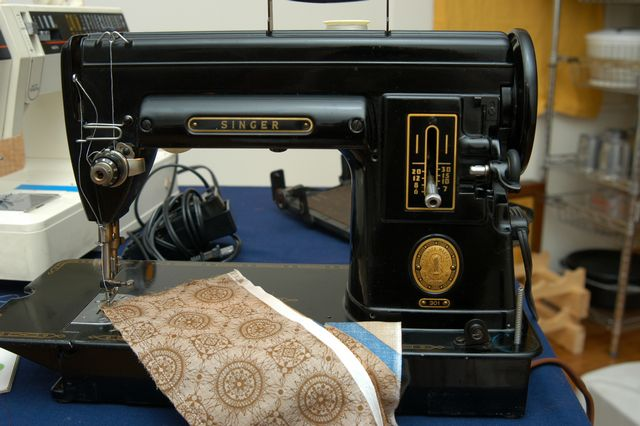 Safely pack and ship a sewing machine.