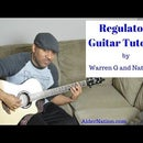 How to Play Regulators by Warren G and Nate Dogg on Guitar.