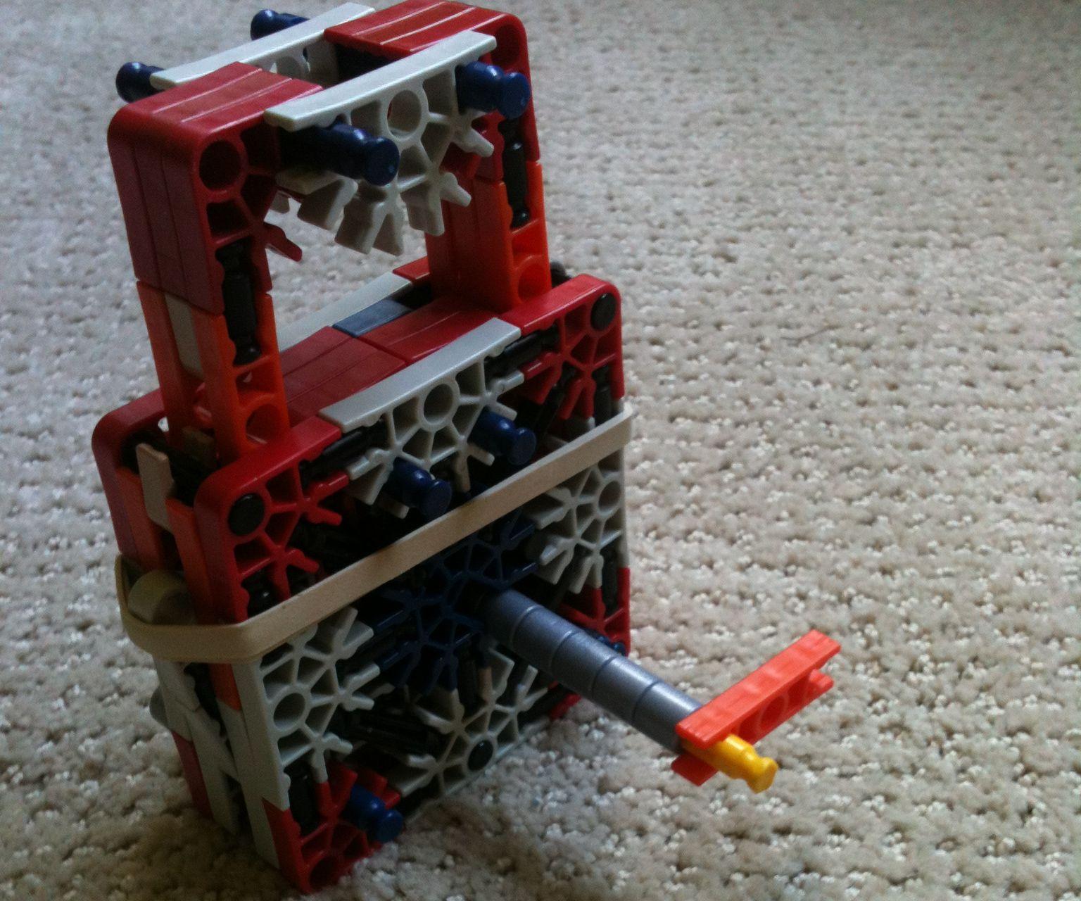 Functioning K'nex Padlock With A Key