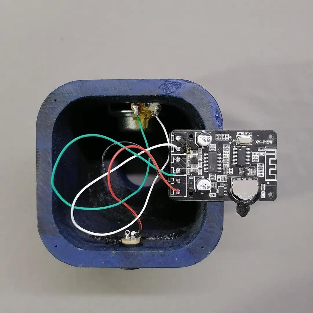 Wire Harness Bluetooth Module With Speaker and DC Jack