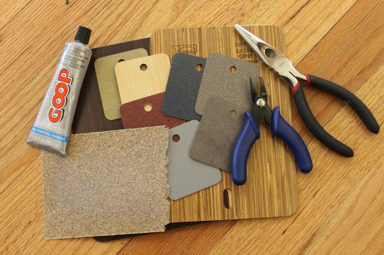 Tools, Materials & Software