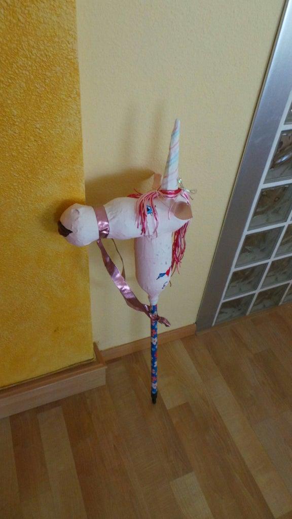 Unicornio De  Juguete / Unicorn Toy Stick