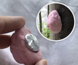 Fake Chewing Gum Container |  Nano Geocache