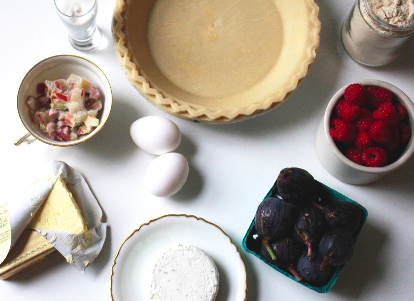 Gather Ingredients for 2 Little Pi(e)s