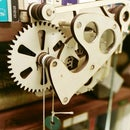 Galileo Wooden Escapement Mechanism