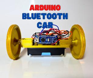 DIY Arduino Bluetooth Controlled Car