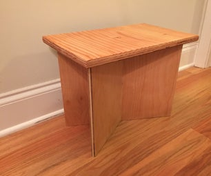 Magnetic Joinery Flat-pack Stool