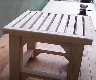 Building the Bathroom Bench for Elders