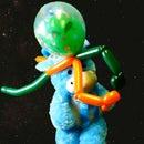 Alien Tourist Balloon Hat - Covid-19 Space Helmet Upgrade