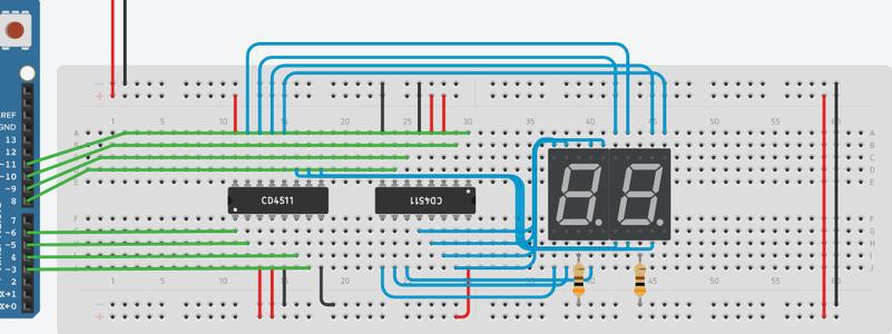 Understanding the CD4511 IC and 7 Segment Display
