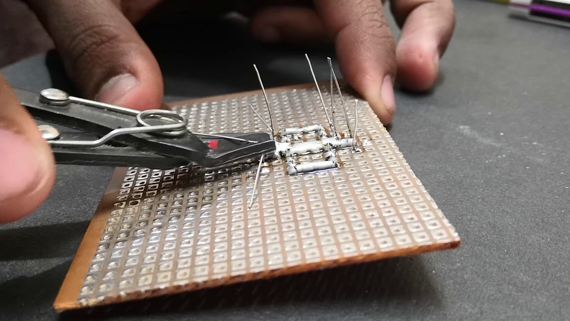 Building the Line Following Robot Circuit