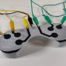3D Printing a Multi-Material Conductive Touch-Sensitive 3D Printed Controller for Makey Makey with a Single Extruder 3D Printer