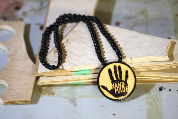 Pyrography Jewellery From Skateboard Veneer Scraps