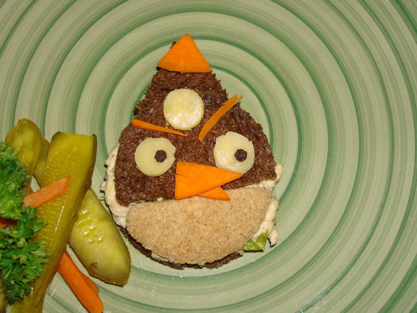 The Bomb's Healthy Halloween Sandwich