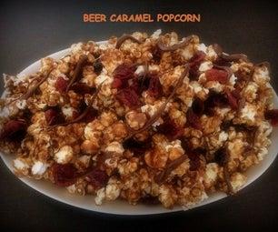 Beer Caramel PopCorn