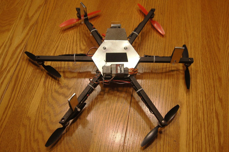 Custom Built Micro Hexacopter Frame