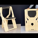 How to Make a Secret Foldable Chair at Home