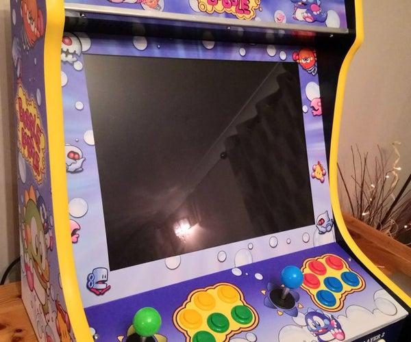 Bubble Bobble Arcade Cabinet (Bartop)