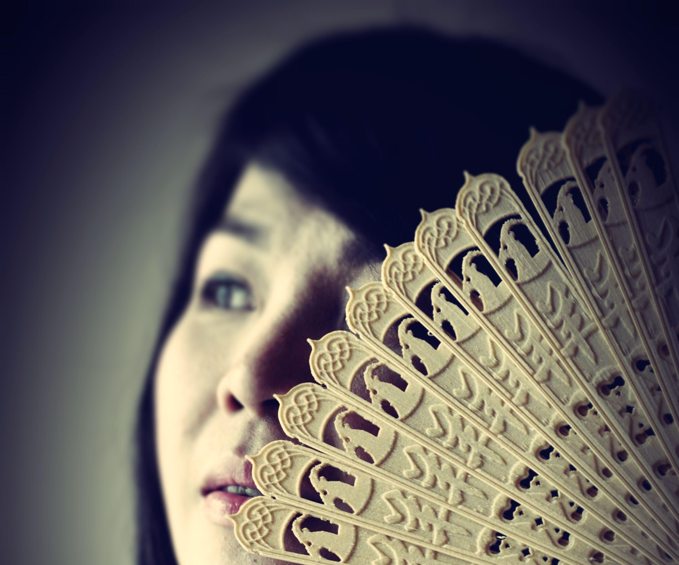 3D Printed Chinese Oriental Folding Fan